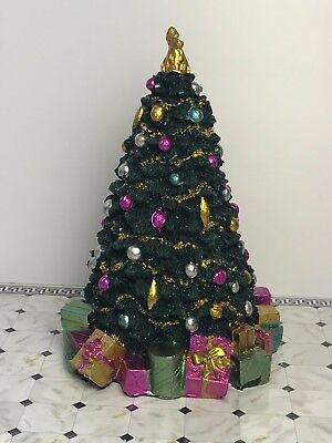 12th Scale Decorated Christmas Tree 175mm Dolls House Emporium (5765)