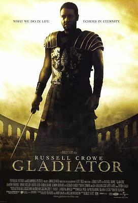 Reproduction Movie Poster on Canvas - Gladiator