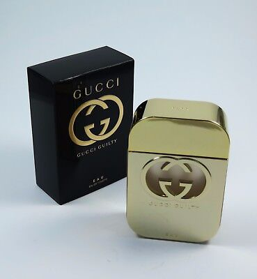 GUCCI GUILTY 75ml Edt Eau de Toilette Spray NEU/OVP