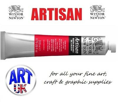 Winsor & Newton ARTISAN WATER MIXABLE OIL COLOUR 200ml Tubes of Artists Paint