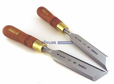 Narex (Czech Republic) Right & Left 26 mm Skew Paring Chisels 811126/811176