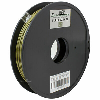 Bronze 1.75mm 0.5kg PLA Filament for 3D Printers