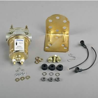 Carter Universal Rotary Vane Electric Fuel Pump Marine 4 - 6 psi # P4389