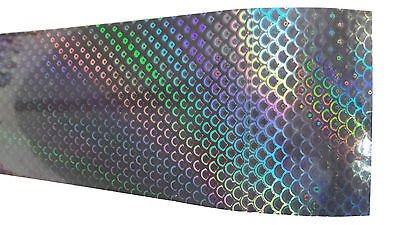 Holographic Spearfishing Skin for Speargun - Protective, Easy Fit - Black Scales