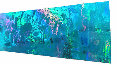 Holographic Spearfishing Skin for Speargun - Protective, Easy Fit - Blue Pearl