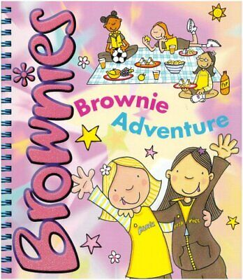 Brownie Adventure, Girlguiding UK Paperback Book The Cheap Fast Free Post