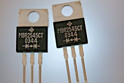 20pcs Diode schottky 30A 45V TO220 MBR2545CT  GS-VISHAY