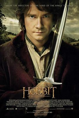Reproduction Movie Poster on Canvas - The Hobbit Trilogy