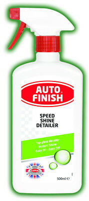 Auto Finish Speed Shine Detailer 500ml AFD505 - Mirror Finish Top Gloss