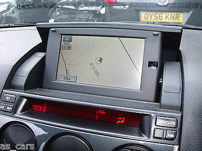 Satellite Navigation System Sat Nav with Remote and Disc - Mazda 6 05-07