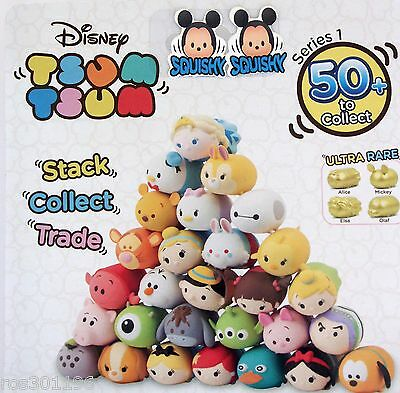 TSUM TSUM DISNEY Series 1 Choose Characters Comb.Post BUY 1 GET 1 FREE (UK only)