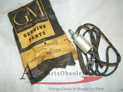 1953 1954 Pontiac glove compartment switch & Wire nos 515470