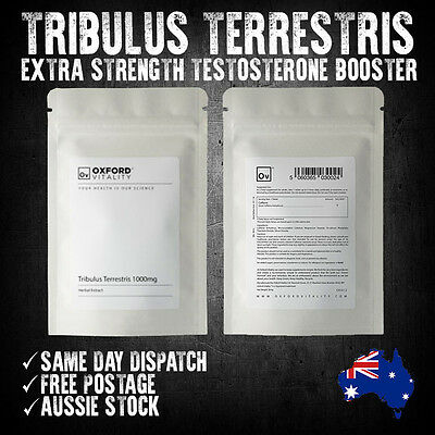 Tribulus Terrestris 120 Tablets Extra Strength Testosterone Booster