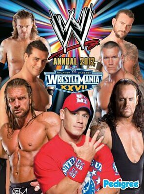 WWE Annual 2012 (Annuals 2012) by Pedigree Books Ltd Book The Cheap Fast Free