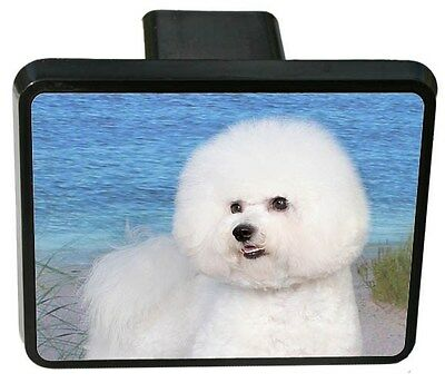 Bichon Frise Trailer Hitch Cover