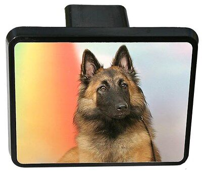 Belgian Tervuren Trailer Hitch Cover