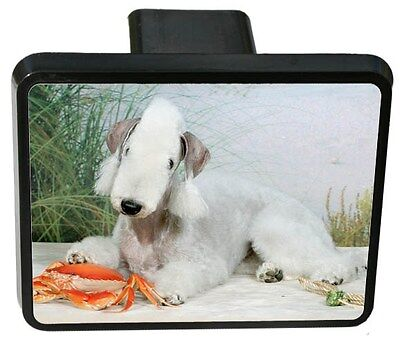 Bedlington Terrier Trailer Hitch Cover