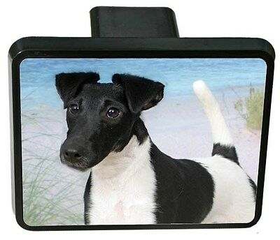 Smooth Fox Terrier Trailer Hitch Cover