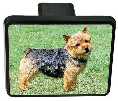 Norwich Terrier Trailer Hitch Cover