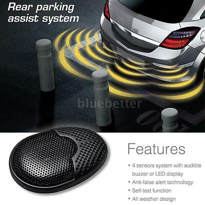 Steelmate Car Auto Reverse Radar Alert System 4 Parking Sensors + Buzzer Speaker