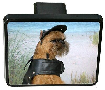 Brussels Griffon Trailer Hitch Cover