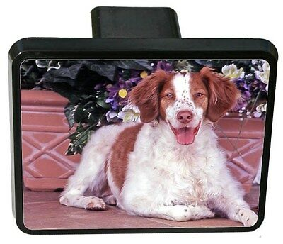 Brittany Spaniel Trailer Hitch Cover