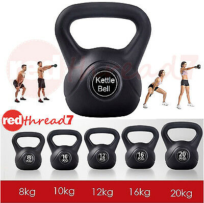 Kettlebells 10 12 16 20 Kg Fitness Exercise Workout Home Gym Kettle Bell Everfit
