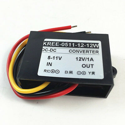 Industry Grade DC 6V To Direct Current 12V /1A Step-Up Converter