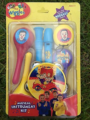 New The Wiggles 6Pcs Musical Instrument Kit Set Kids Toy Play Your Fun Song 3+