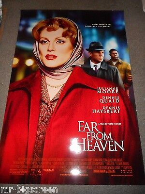 Far From Heaven - Original Ss Rolled Poster - 2002 - Julianne Moore/Todd Haynes