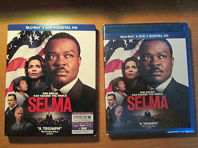 Selma (Blu-ray/DVD, 2015, 2-Disc Set) Brand New W/ Out Of Print Slipcover
