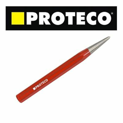 Centre Punch 3mm Heavy Duty Steel Body Punch PROTECO CZECH QUALITY Metal Wood