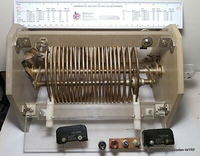 Roller Inductor HUGE! MUST SEE! 25KW? with limit switches Flat strap, INCREDIBLE