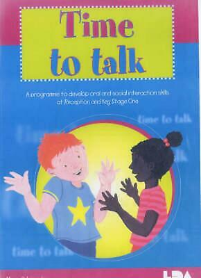 Time to Talk by Alison Schroeder (English) Paperback Book Free Shipping!