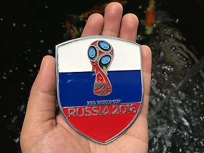 Badge Fifa World Cup Russia 2018 Collectibles Souvenir Placca Plakette