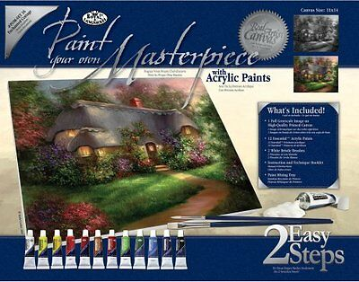 Royal & Langnickel Enchanted Cottage Paint Your Own Masterpiece Kit