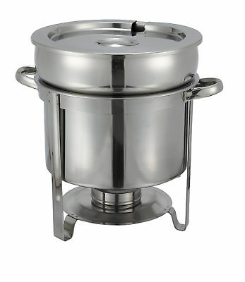 """Winco Stainless Steel Soup Warmer 14"""" H x 11.88"""" W x 12"""" D"""