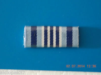 Afp Commissioners Medal For Excellence (Cme) Ribbon Bar Plastic Covered W/2 Pins