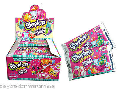 SHOPKINS Series 3 Booster Sealed packets, 7 cards per packet