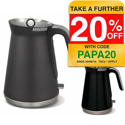 Morphy Richards 2200W Aspect Stainless Steel 1.5L Cordless Kettle w/Water Filter