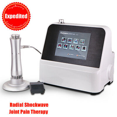 Expedited Spa Pro Joint Pain Therapy Slimming Ultraonic Radial Shockwave Machine