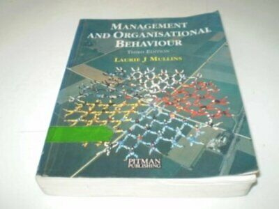 Management and Organisational Behaviour, Mullins, Laurie J. Paperback Book The