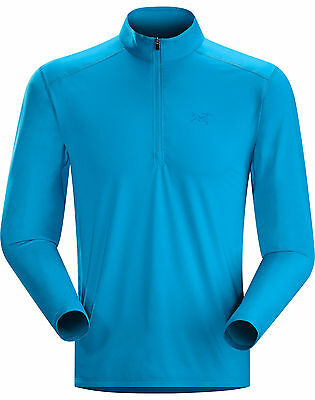 Arc'teryx Ether Zip Neck LS Riptide Blue Brand New From Outdoor Store
