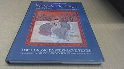 The Illustrated Kama Sutra by Vatsyayana Mallanaga Hardback Book The Cheap Fast