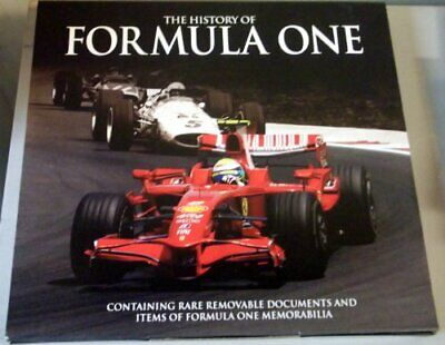 The History of Formula One: F1 in Your Hands by Jones, Bruce Book The Cheap Fast