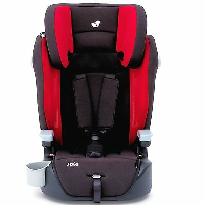 New Joie Elevate Group 1 2 3 Car Seat Cherry Approx 9 Months To 12 Years