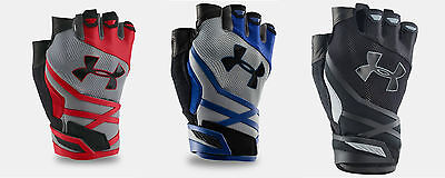 New - Under Armour 2016 Men's UA Resistor Training Gloves Gym Weight Lifting