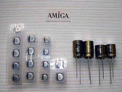AMIGA 1200 Re-capping /  Capacitor Kit  - HIGH Quality Panasonic Full Set