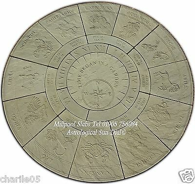Zodiac Circle Paving Patio Slabs Stones (Free Delivery Note Exceptions)