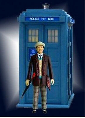 *NEW IN BOX* Dr Who 7th Doctor Who Figure & TARDIS 20cm with SFX Sound
